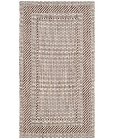 "Safavieh Courtyard Beige and Brown 2' x 3'7"" Area Rug"