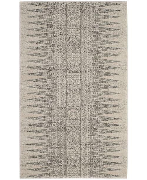 Safavieh Evoke Ivory and Silver 3' x 5' Area Rug
