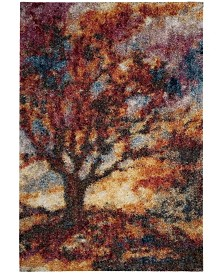 "Safavieh Gypsy Rust and Blue 5'1"" x 7'6"" Area Rug"