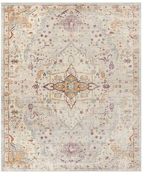 Safavieh Illusion Lilac and Light Gray 8' x 10' Area Rug