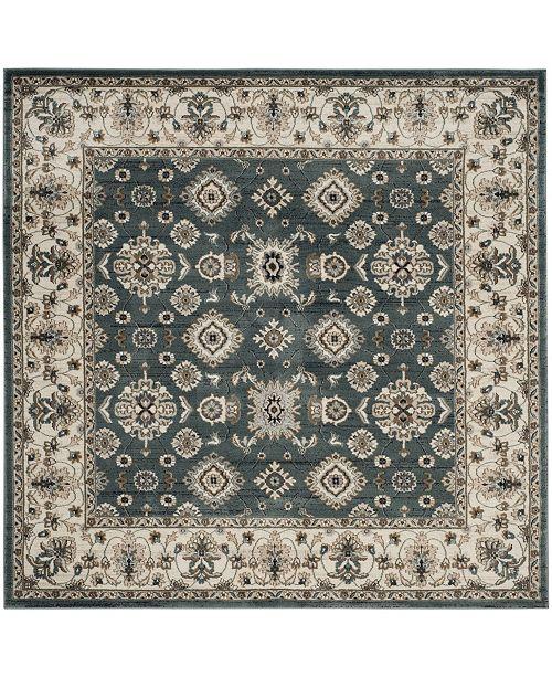 Safavieh Lyndhurst Teal and Cream 7' x 7' Square Area Rug