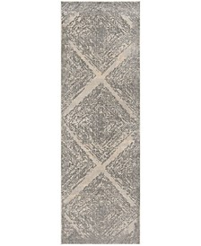 """Meadow Taupe 2'7"""" x 8' Area Rug"""