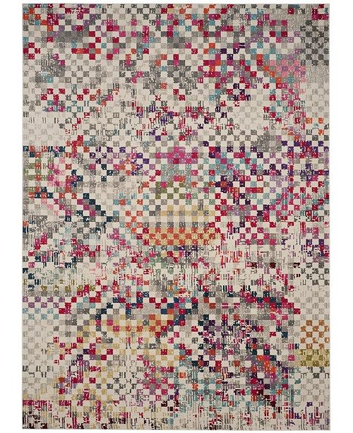 Safavieh Monaco Gray and Multi 8' x 11' Area Rug