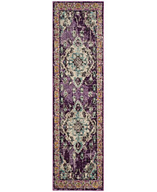 "Safavieh Monaco Violet and Light Blue 2'2"" x 8' Area Rug"