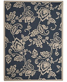 "Safavieh Martha Stewart Navy and Beige 8' x 11'2"" Area Rug"
