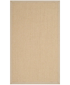 Safavieh Natural Fiber Natural and Ivory 3' x 5' Sisal Weave Area Rug