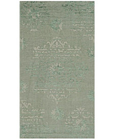 "Safavieh Palazzo Light Green and Light Gray 2' x 3'6"" Area Rug"