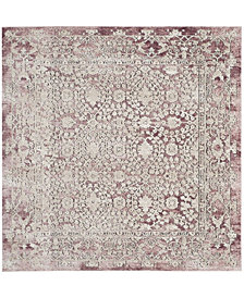 "Safavieh Palermo Rose and Beige 6'7"" x 6'7"" Square Area Rug"