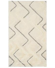 Safavieh Olympia Cream and Gray 3' x 5' Area Rug