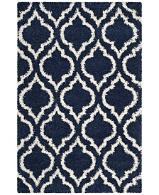 Safavieh Hudson Navy and Ivory 4' x 6' Area Rug