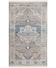 Safavieh Vintage Persian Gray and Blue 3' x 5' Area Rug