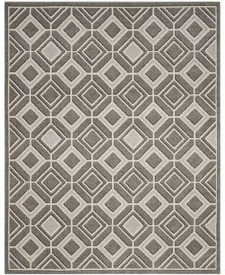 Amherst Gray and Light Gray 8' x 10' Area Rug