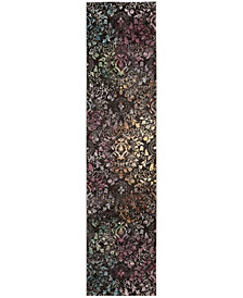 Safavieh Aria Brown and Multi 2' x 8' Area Rug