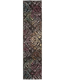 Safavieh Aria Brown and Multi 2' x 8' Runner Area Rug