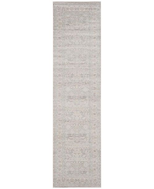 """Safavieh Archive Grey and Light Grey 2'2"""" x 8' Runner Area Rug"""