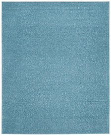 Safavieh Arizona Shag Aqua 8' x 10' Sisal Weave Area Rug