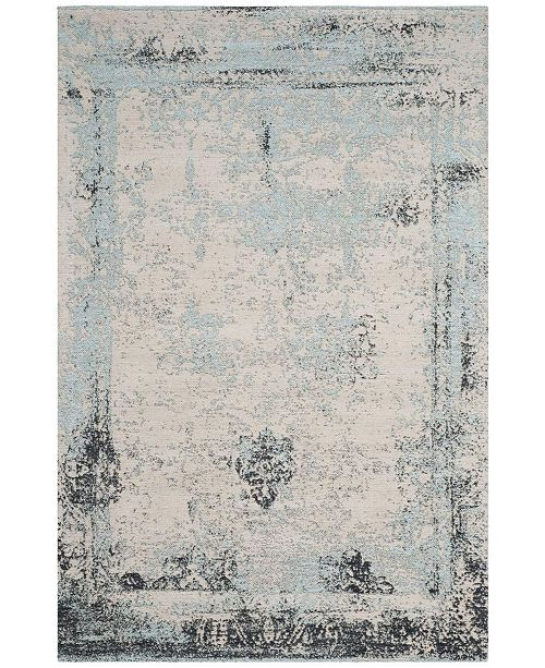 Safavieh Classic Vintage Blue 4' x 6' Area Rug