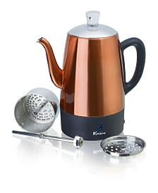 Euro Cuisine PER08 Electric Percolator - 8 Cups