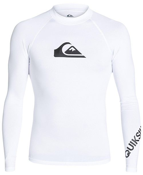 Quiksilver Men's All-Time Logo Graphic Swimsuit
