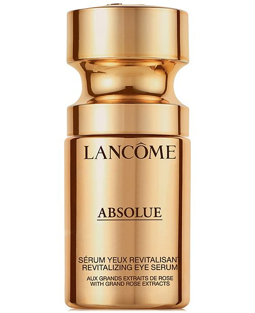 Lancome Absolue Revitalizing Eye Serum With Grand Rose Extracts, 0.5 oz.