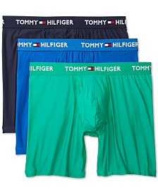 Tommy Hilfiger Men's 3-Pk. Everyday Micro Boxer Briefs