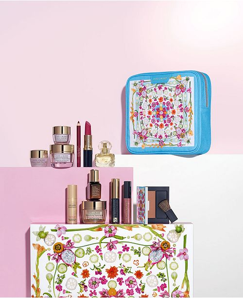 Estee Lauder Choose your FREE 7-Pc. gift with any $37.50 Estée Lauder purchase (Up to $155 Value!), Created for Macy's