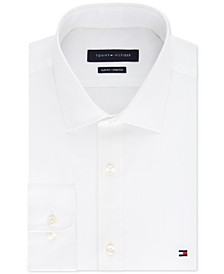 Men's Slim-Fit Stretch Solid Dress Shirt, Online Exclusive Created for Macy's