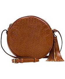 Patricia Nash Woven Leather Scafati Crossbody