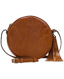Patricia Nash Woven Leather Scafati Crossbody