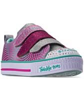 ed478464aae6 Skechers Little Girls  Twinkle Toes  Twinkle Lite - Shiny Smilez Casual  Sneakers from Finish