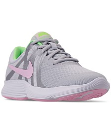 Nike Girls' Revolution 4 Running Sneakers from Finish Line
