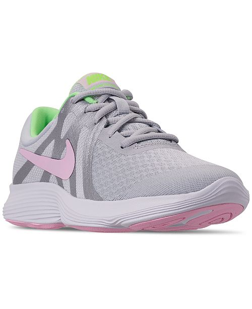 780f2e6dfcfd2 Nike Girls  Revolution 4 Running Sneakers from Finish Line   Reviews ...