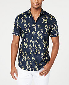 I.N.C. Men's Blooming Floral Shirt, Created for Macy's