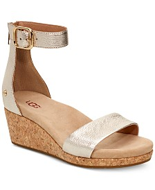 UGG® Women's Zoe II Wedge Sandals