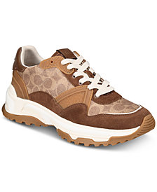 COACH Men's C143 Signature Sneakers