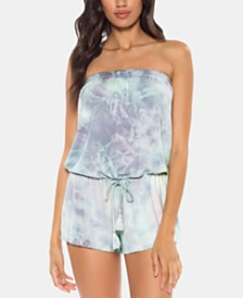 Soluna Moonlight Tie-Dye Romper Coverup