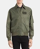 9ea8e1a7 Calvin Klein Men's Water-Resistant Bomber Jacket