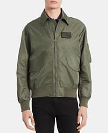 Calvin Klein Men's Water-Resistant Bomber Jacket