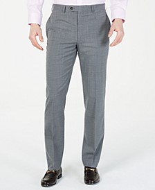 Men's Classic-Fit UltraFlex  Stretch Windowpane Dress Pants