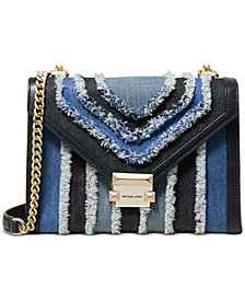 MICHAEL Michael Kors Whitney Denim Shoulder Bag