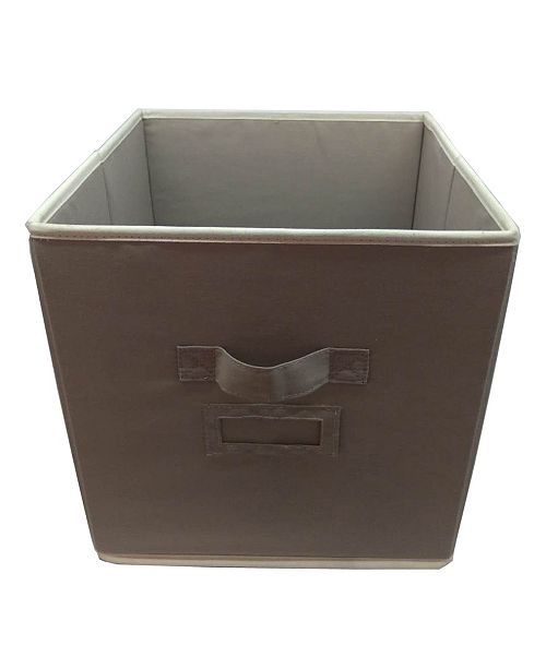 Elegant Home Fashions Open Soft Storage Organizer Bin without Lid