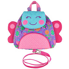 Stephen Joseph Little Buddy Bag With Safety Harness