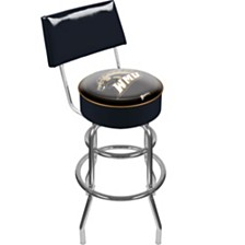 Western Michigan University Padded Bar Stool with Back