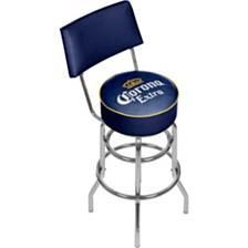 Corona Swivel Bar Stool with Back - Griffin
