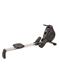 Sunny Health and Fitness SF-RW5730 Air Magnetic Rower with Aluminum Slide Rail