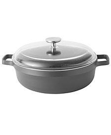 BergHOFF Gem Cast Alum 4.9 Qt Non-Stick Covered Sauté Pan