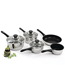 Vision 8 Piece Stainless Steel Cookware Set