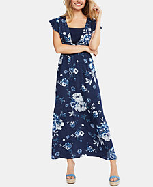 Jessica Simpson Maternity Nursing Maxi Dress