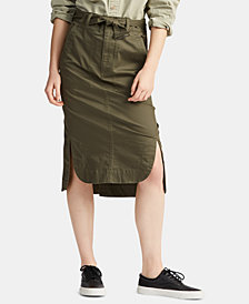 Polo Ralph Lauren Twill Cargo Skirt