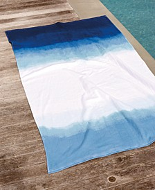 Dip Dye Ombre 100% Cotton Beach Towel